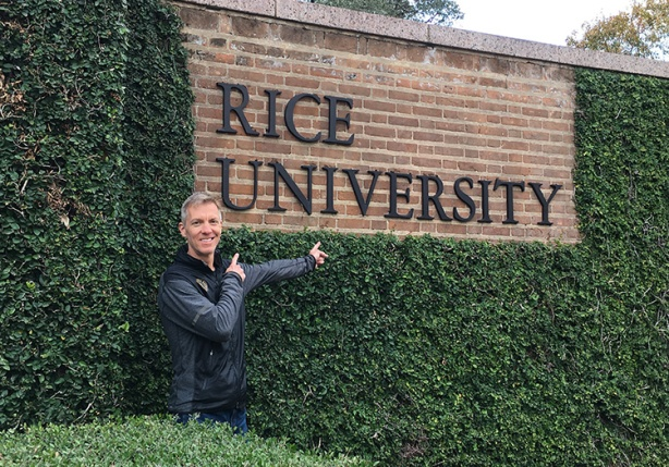 Mike Sohaskey at Rice University