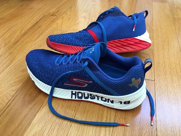 Houston Marathon Skechers shoes