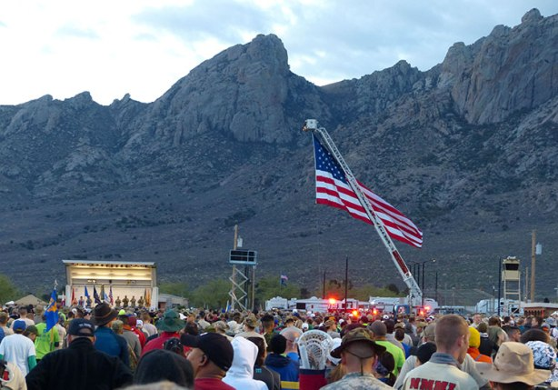 Bataan Memorial Death March opening ceremonies