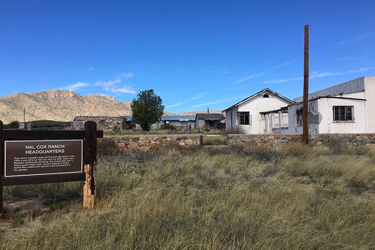 Bataan Memorial Death March –Hal Cox Ranch at mile 19