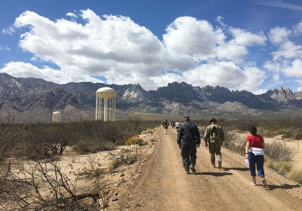 Bataan Memorial Death March mile 25