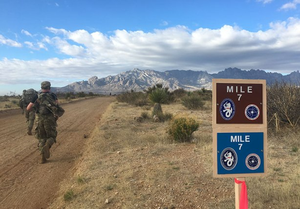 Bataan Memorial Death March mile 7