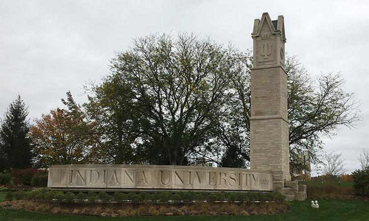 Indiana University entrance