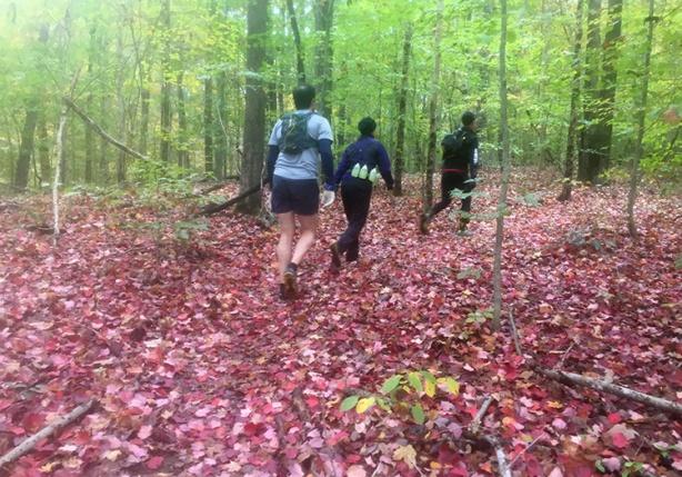 Tecumseh Trail Marathon mile 9