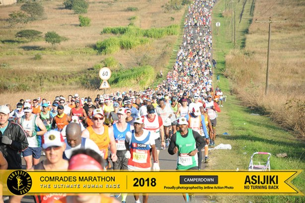 2018 Comrades Marathon at Camperdown