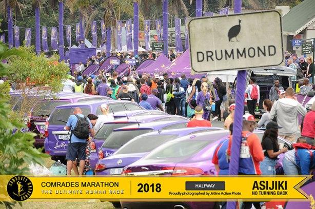 Comrades Marathon halfway point: Drummond