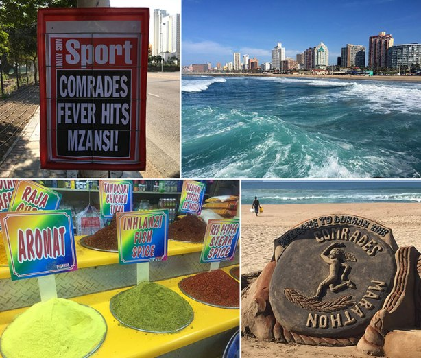 Scenes from Durban before 2018 Comrades Marathon