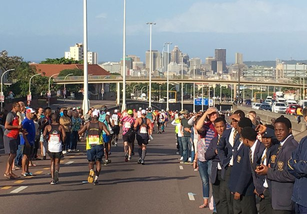 Setting sights on Durban during 2018 Comrades Marathon down run