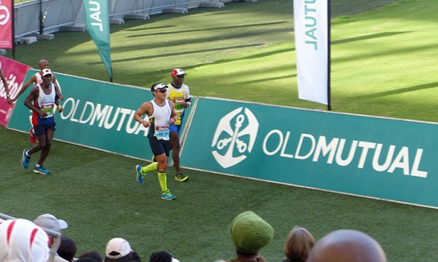 Jimmy Nam in homestretch of 2018 Comrades Marathon finish