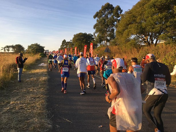 2018 Comrades Marathon on way to Camperdown