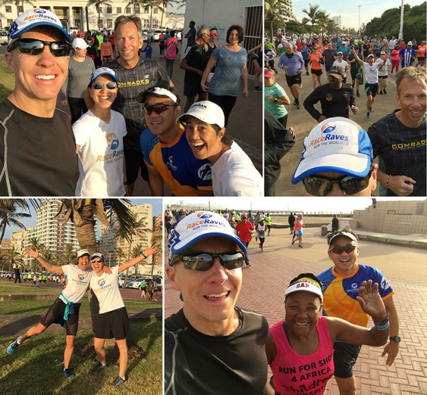 Durban North Beach parkrun day before 2018 Comrades Marathon