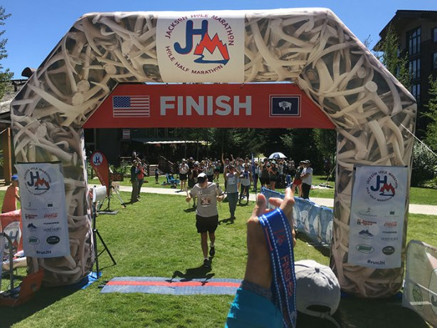 50 States Finisher Grif at Jackson Hole Marathon 2018