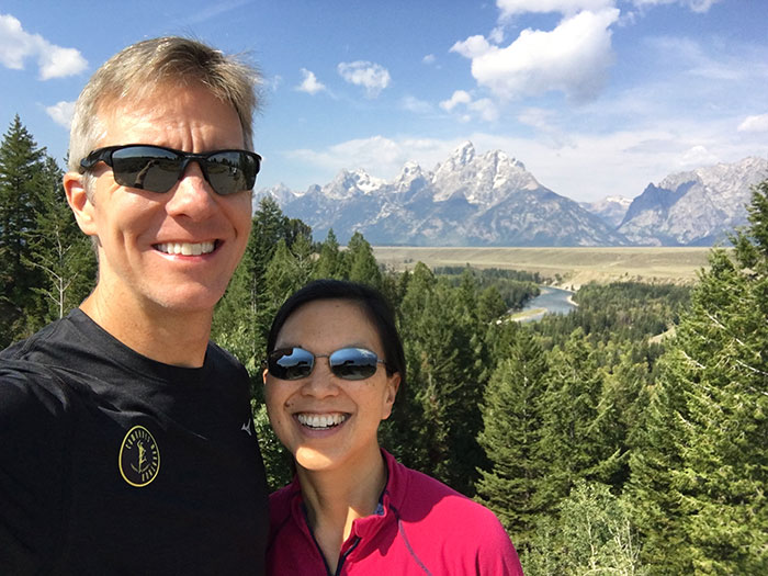 Mike Sohaskey & Katie Ho at Snake River Overlook