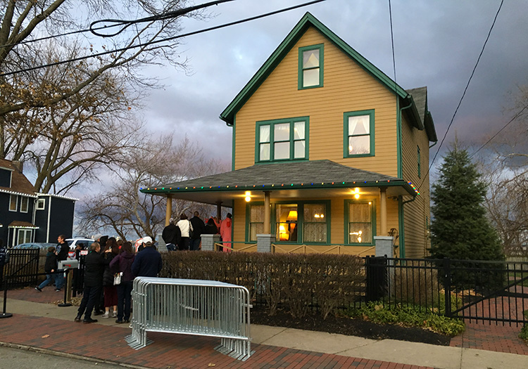 Ralphie's house from A Christmas Story in the Tremont neighborhood of Cleveland