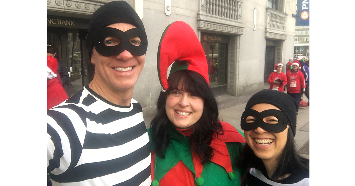 In Pictures A Christmas Story 5k 10k Run Blisters Cramps Heaves