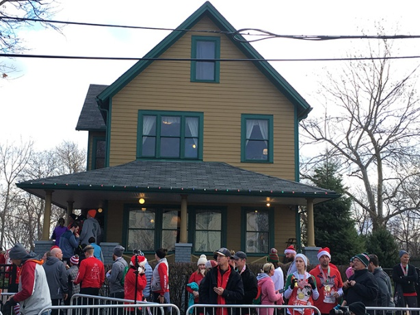 A Christmas Story House after 5K
