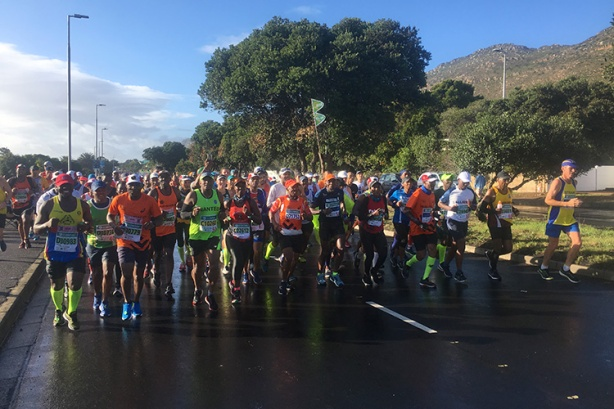 "6-hour ""bus"" at Two Oceans Marathon"