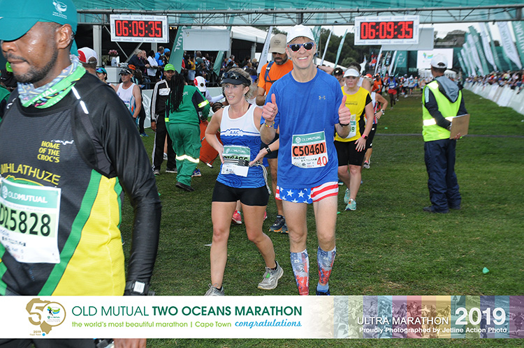 Mike Sohaskey, Two Oceans Marathon finisher