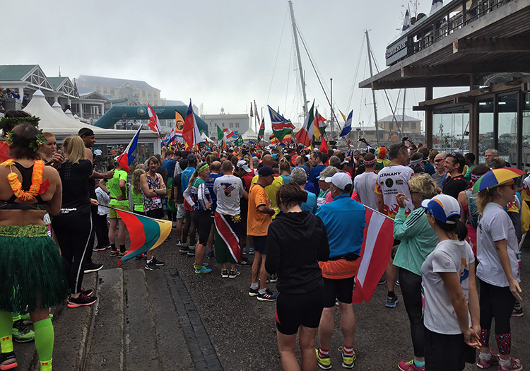 Two Oceans Marathon International Friendship Run
