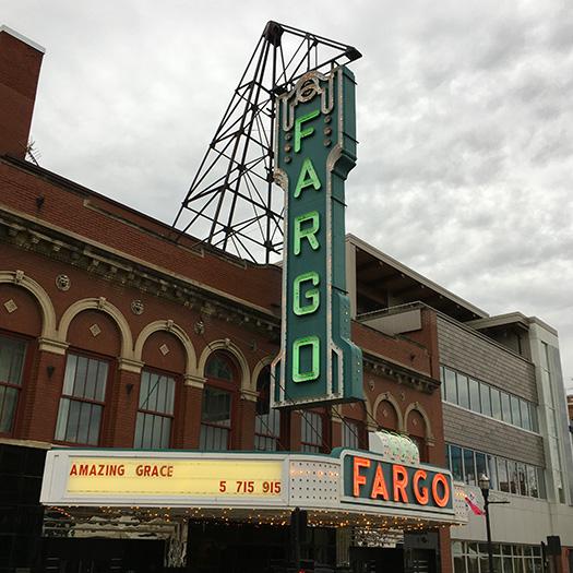 Historic Fargo Theatre in downtown
