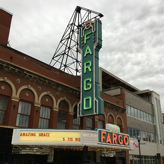 Historic Fargo Theatre in downtown