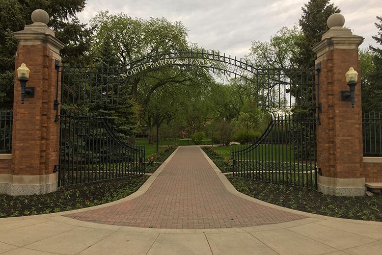 North Dakota State University ebony gates