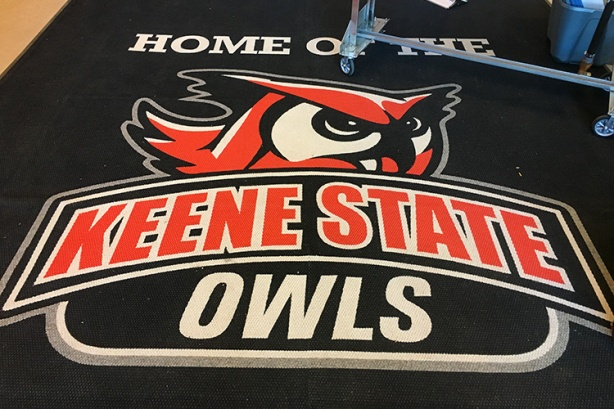 Keene State Owls sign