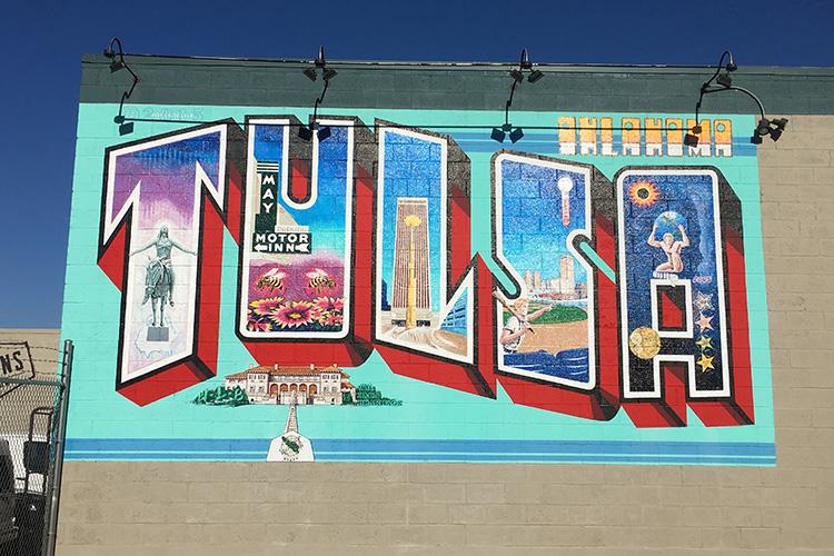 Tulsa mural