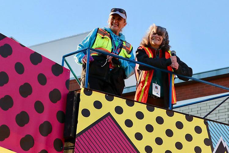 Little Rock Marathon race directors, Geneva Lamm & Gina Pharis – the Chicks in Charge