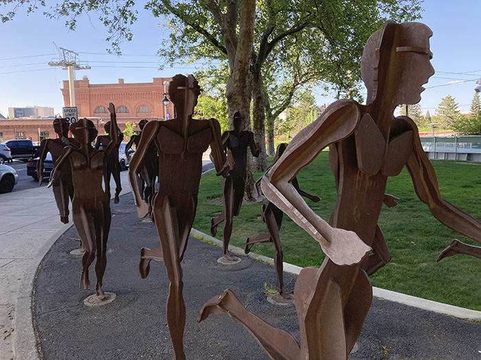 """""""The Joy of Running Together"""" pays tribute to Spokane's annual Lilac Bloomsday Run"""